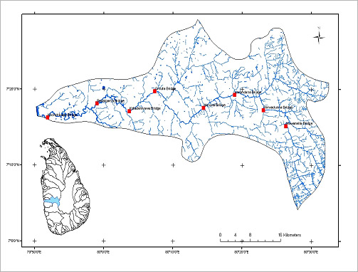 Water Quality monitoring of Ma Oya